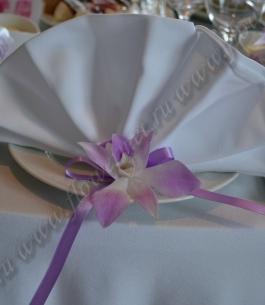 Оформление цветами свадебного зала